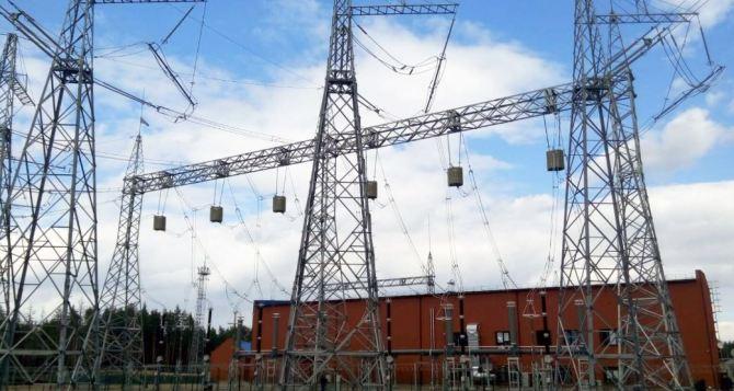 Часть Луганской области рискует остаться без электричества с 21 по 25сентября