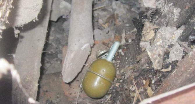 В Артемовском районе Луганска прохожие обнаружили гранату РГД-5