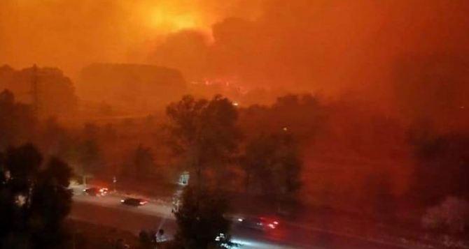 На Северодонецком «Азоте» рассказали о последствиях пожара на территории завода