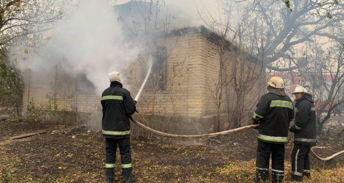 В пожарах на Луганщине погибло 11 человек, пострадали 17 человек