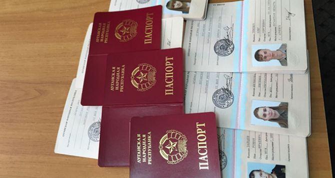 В Луганске рассказали сколько выдали российских и местных паспортов