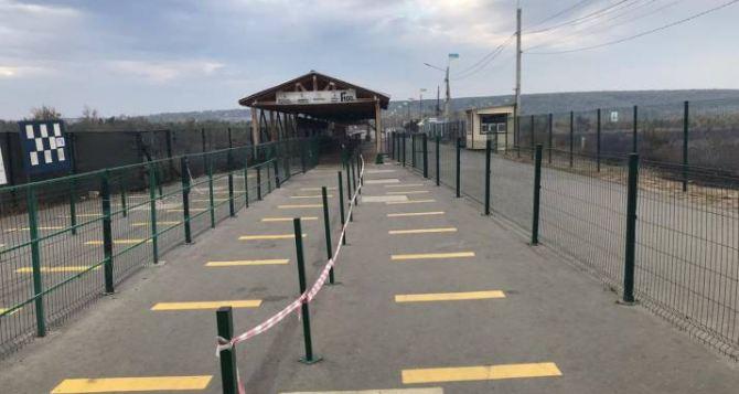 Пограничники готовят КПВВ «Станица Луганская» к возобновлению работы