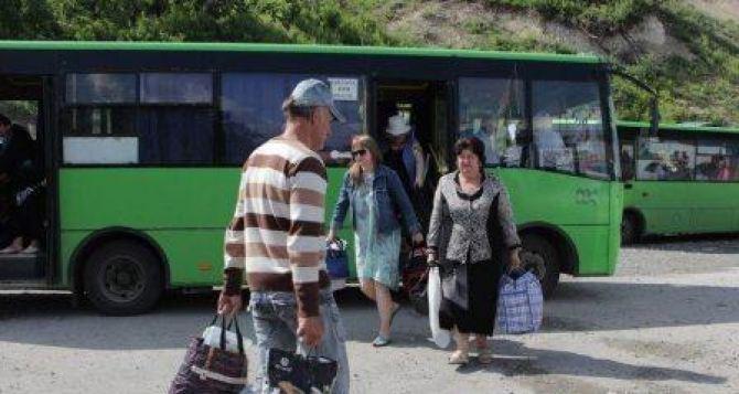 Движение автобусов до КПВВ «Станица Луганская» приостановлено из-за прекращения работы пропускного пункта