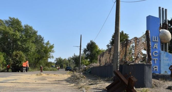 Киев не подтверждает проведение работ по оборудованию КППВ в Счастье. Одновременное открытие КПВВ в Счастье и Золотом под угрозой срыва