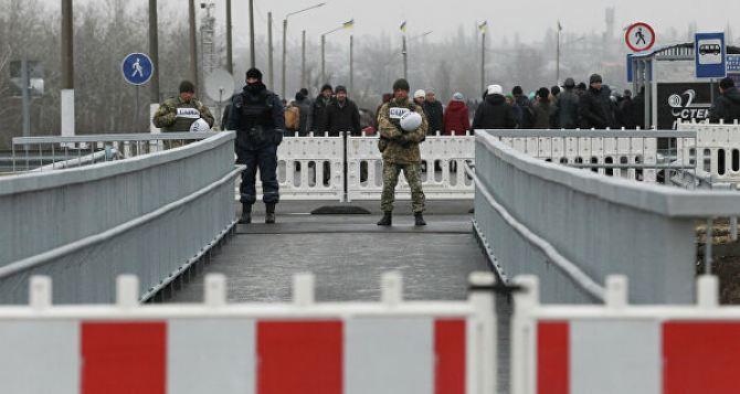 Луганск со своей стороны закрыл КПВВ «Станица Луганская»