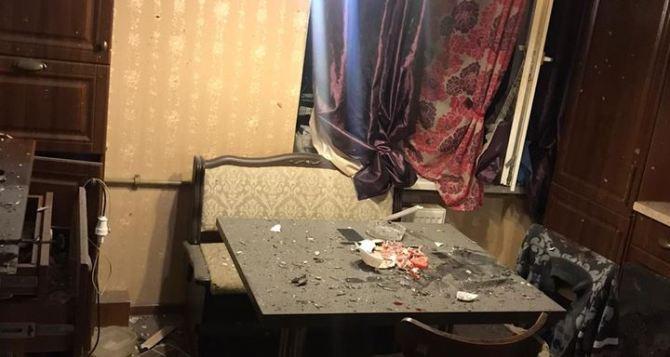 В Рубежном в жилом доме взрыв. Двое пострадавших. ФОТО