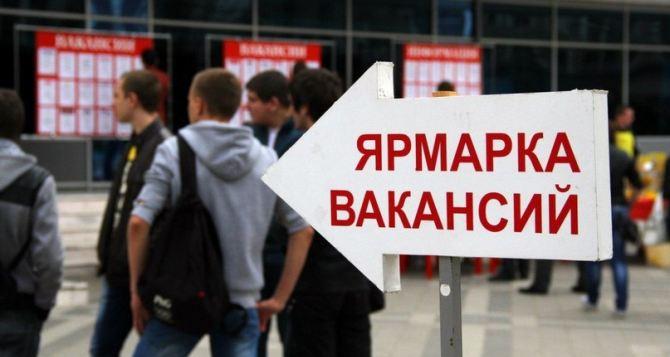 Ярмарка вакансий пройдет в Луганске 22октября