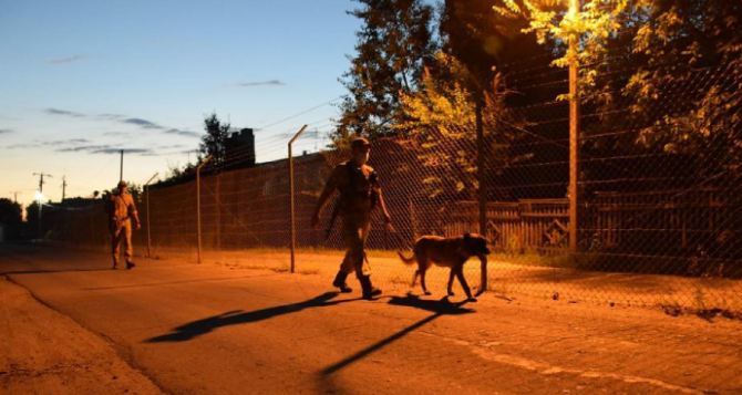 В Луганской области запретили жителям приближаться к российской границе