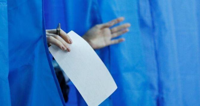 Выборы в Луганской области: первые результаты