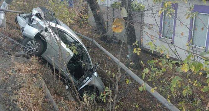 В Ровеньках автомобиль протаранил газопровод— 27 домов остались без газа