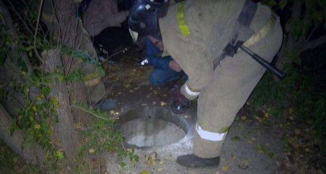 Ребенок провалился в трехметровый колодец в Краснодоне. ФОТО