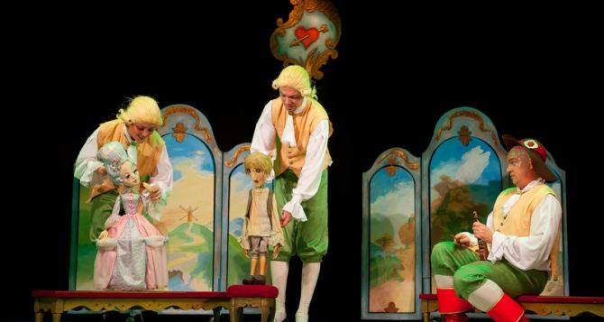 В Луганском театре кукол состоялась премьера спектакля «Кот в сапогах»