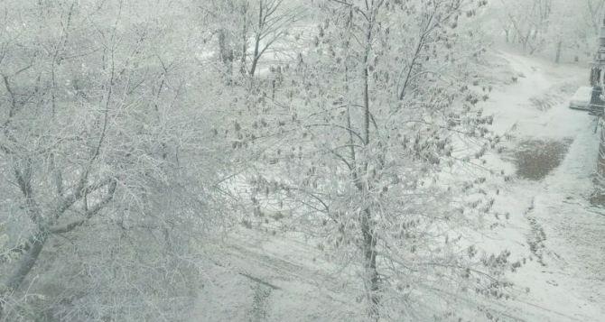 В конце недели в Луганской области ожидаются морозы до минус 13 градусов ночью
