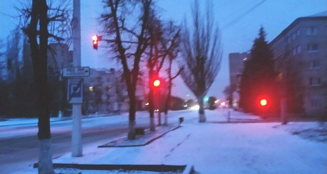 Завтра в Луганске мороз, небольшой снег, гололедица