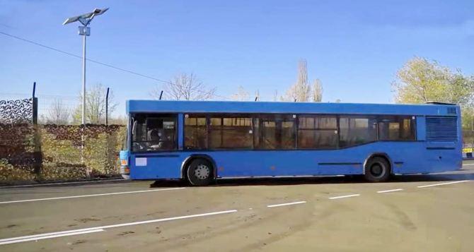 Стало известно почему не открывают КПВВ в Счастье и Золотом: не могут решить где будет разворачиваться автобус