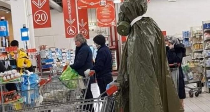 Завтра в Украине начнут штрафовать за отсутствие маски, где-то так— гривен на 200