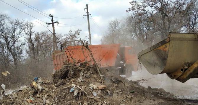 Свалку в Луганске ликвидировали только после того, как неравнодушный луганчанин написал заявление в прокуратуру на коммунальщиков. ФОТО