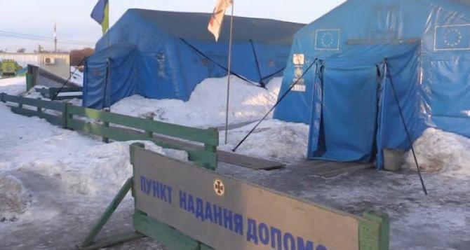 Украина готова развернуть гуманитарные лагеря на КПВВ в Донбассе в случае обострения ситуации с COVID-19