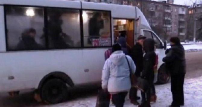 В Луганске запустили два новых автобусных маршрута 438А и 438Б