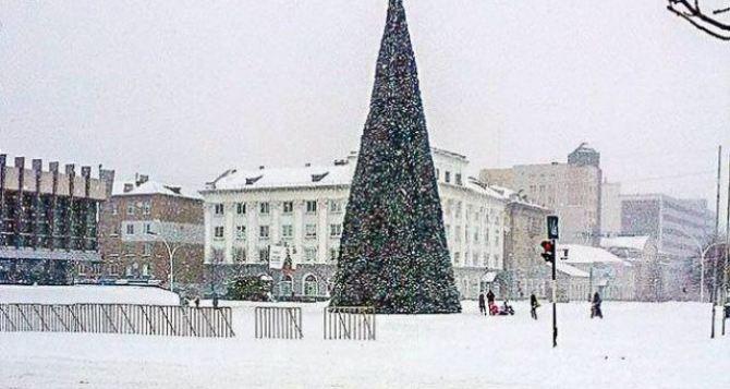 Погода готовит сюрприз жителям Луганска к Новому Году