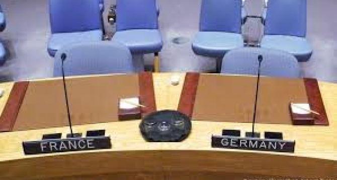 Германия и Франция заблокировали трансляцию на сайте ООН выступлений представителей Донбасса