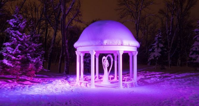 Новогодний Луганск. ВИДЕО