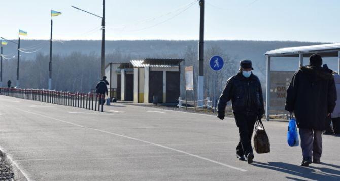 Вчера через КПВВ «Станица Луганская» прошло рекордное количество людей