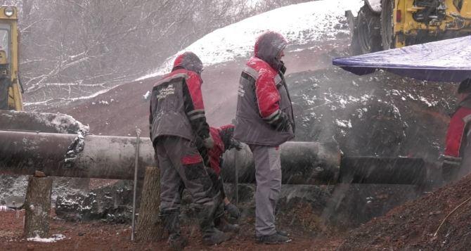 Газоснабжение Лутугинского района полностью восстановлено после взрыва на газпроводе