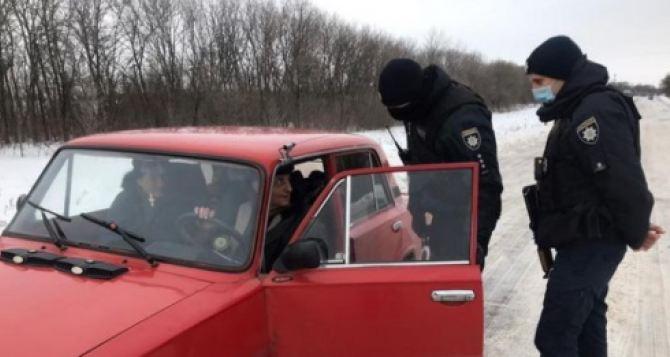Военные и полиция провели «зачистку» Мелового. ВИДЕО