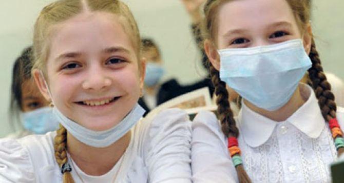 В Луганске посчитали сколько вчера было школьников на уроках