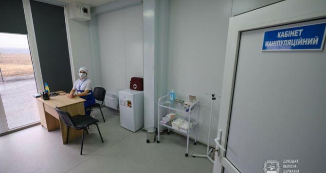 Как жители Донецка проходят экспресс-тест на КПВВ «Новотроицкое». ВИДЕО