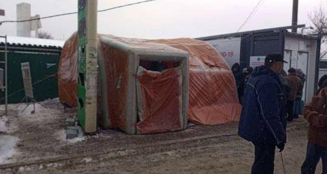 Вчера через КПВВ «Станица Луганская» смогли пройти 1275 человек. Поток из Луганска был в три раза больше