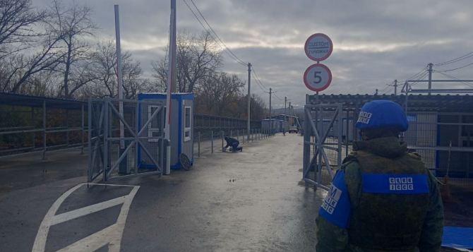 Наблюдатели ОБСЕ зафиксировали движение на КПВВ «Луганск— Счастье» и «Первомайск— Золотое»