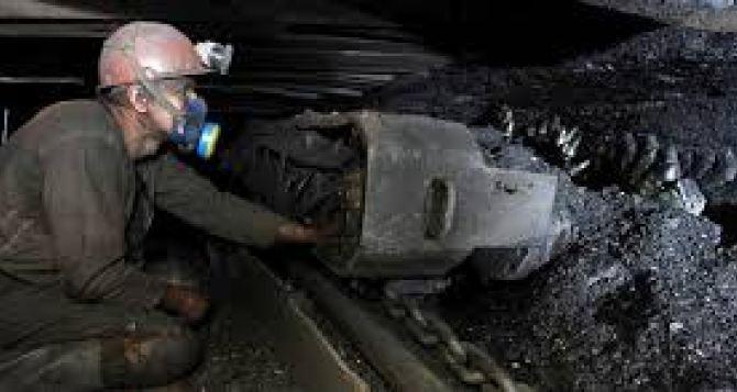 В Луганске рассказали сколько угля добыли и куда он делся