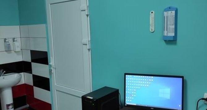 В Станице Луганской отремонтировали кабинеты для врачей. ФОТО