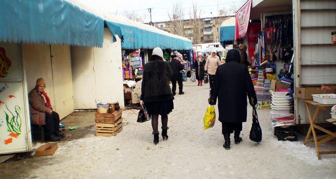 На рынках Луганска продолжаются профилактические рейды