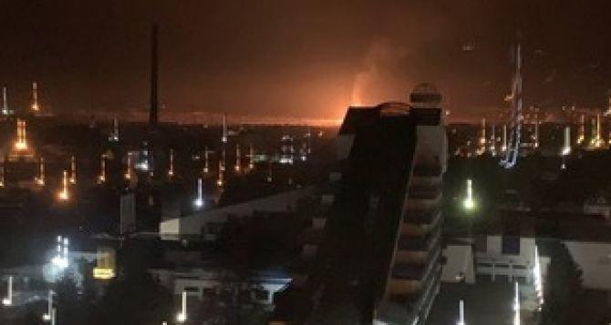 В Луганске возгорание газа на газораспределительном узле ликвидировали в час ночи
