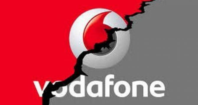 Из-за аварии на ЛЭП прекратил работу украинский оператор мобильной связи Водафон