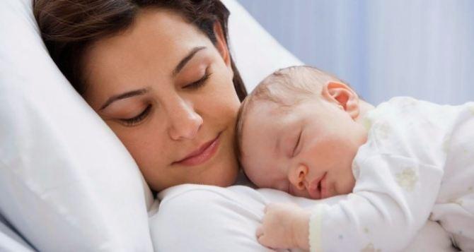 Регистрация новорожденных на территории Донбасса