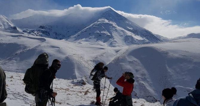 Альпинисты из Луганска начали восхождение на пики Кавказа. ФОТО