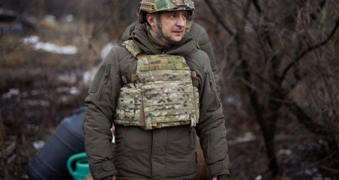 Завтра в Луганскую область должен приехать президент Зеленский
