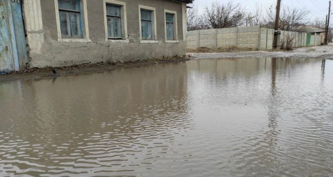 В Луганске рассказали об угрозе наводнения в результате весенних паводков