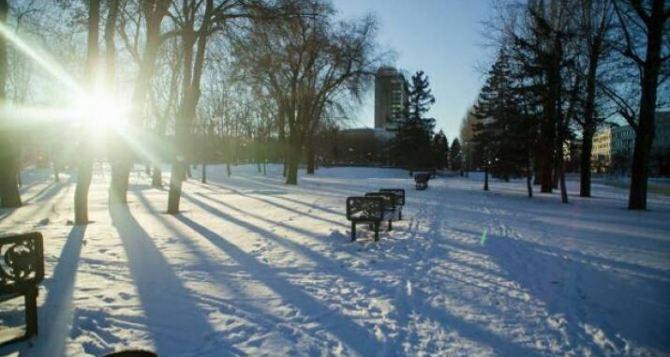 Завтра в Луганске плюс 4, облачно, гололедица, ветер порывами