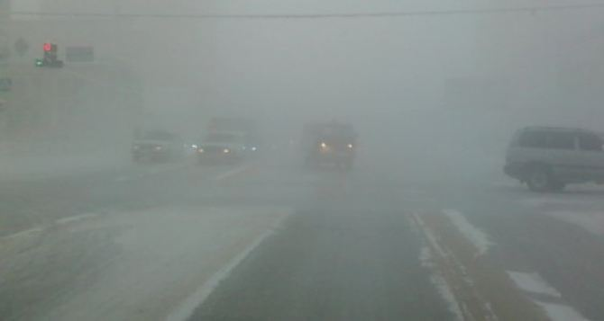 Объявлено штормовое предупреждение: под Луганском днем сильные туманы
