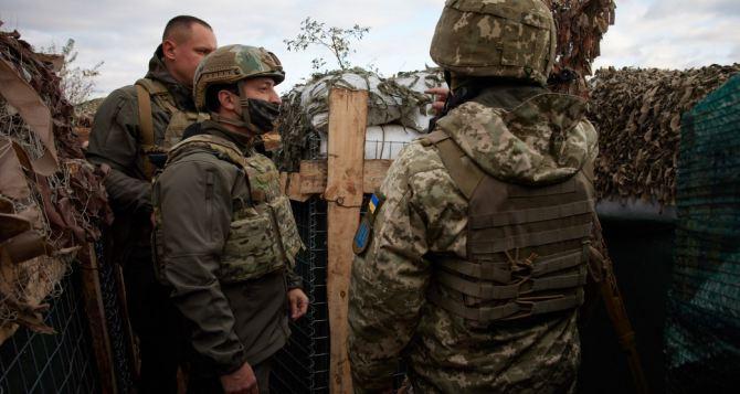 Зеленский назвал вступление Украины в НАТО единственным шансом завершить войну на Донбассе