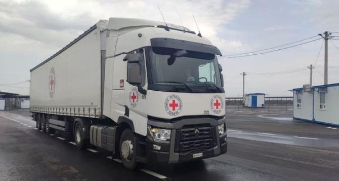 В Луганск через КПВВ «Счастье-Луганск» пропустили 11 автомобилей. ФОТО