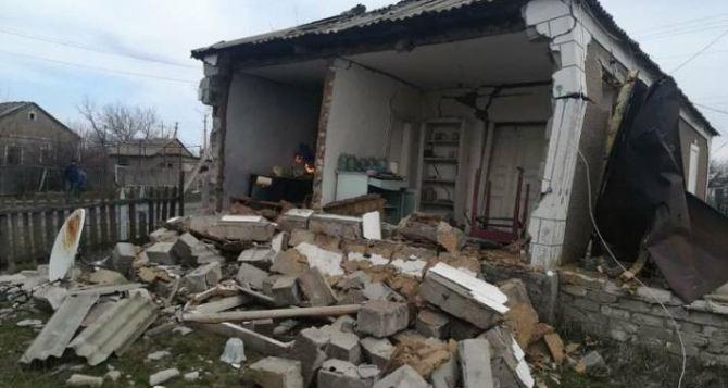 Взрыв газа в жилом доме на Донбассе