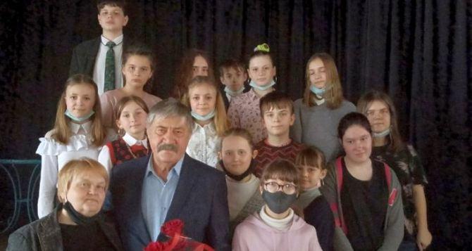 Народный артист Михаил Голубович провел творческую встречу