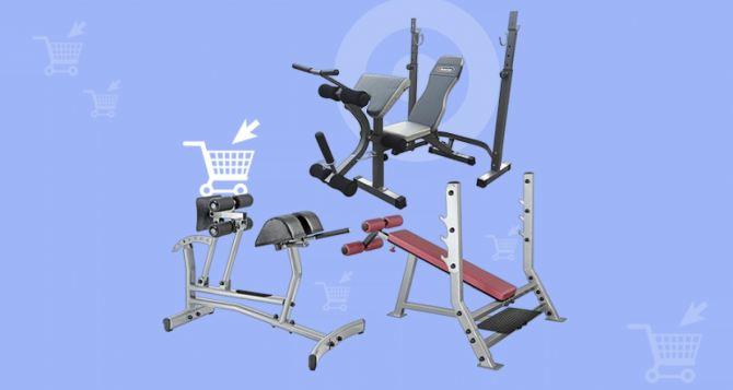 Обустройство тренажерного зала: лучшие модели скамеек и стоек для пресса с регулировкой наклона