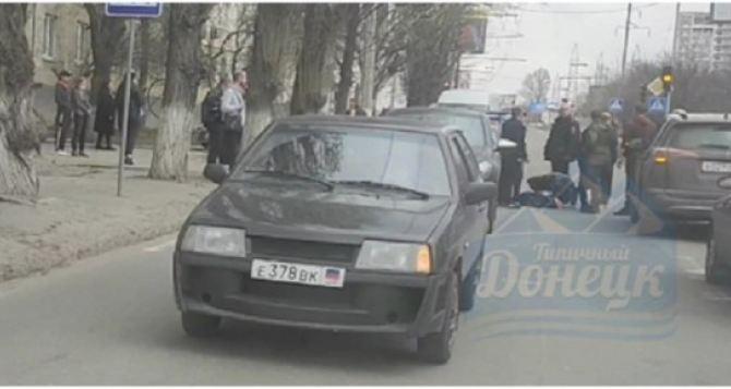 В Донецке на пешеходном переходе детей сбили два джипа